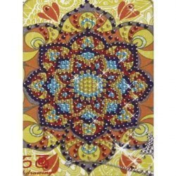 Алмазная мозаика 008R 10х15 (на мольберте)