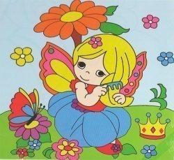 Детский набор для рисования на подрамнике № 17