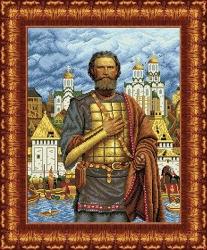 Канва для бисера КБЛ-2002 Дмитрий Донской
