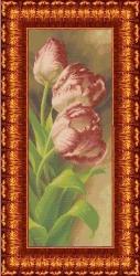 Канва для бисера КБЦ-2002 Тюльпаны