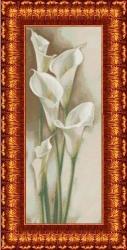 Канва для бисера КБЦ-2003 Каллы
