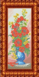 Канва для бисера КБЦ-2004 Цветы