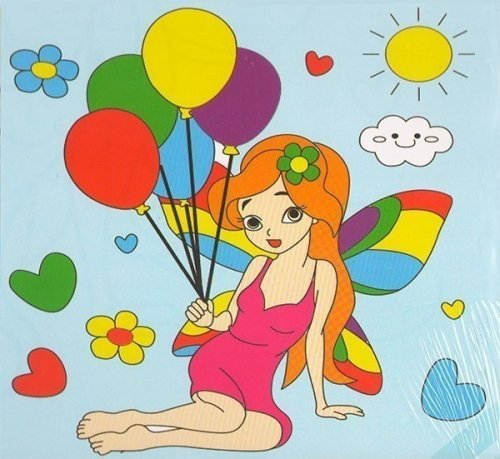 Детский набор для рисования на подрамнике № 30