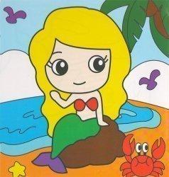 Детский набор для рисования на подрамнике № 41