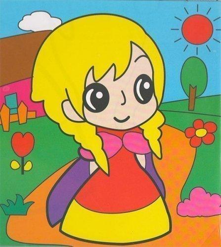 Детский набор для рисования на подрамнике № 43