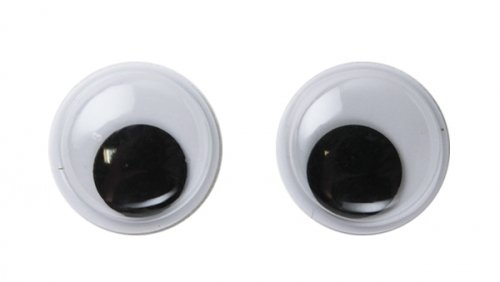Глазки круглые 16 мм 1/500 шт