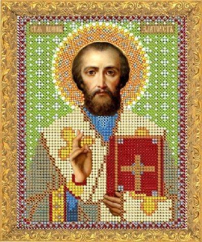 """Рисунок на ткани для вышивания бисером 770М """"Св. Иоанн"""""""