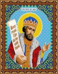 """Рисунок на ткани для вышивания бисером Бис 792 """"Св. Давид"""""""
