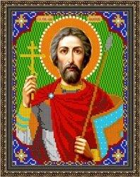 """рисунок на ткани для вышивания бисером Бис 829 """"Св. Филипп"""""""