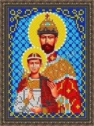 Pисунок на ткани для вышивания бисером 832М «Св. Царь Николай»
