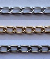 Цепь металл 3 мм. A1708 (40м.)
