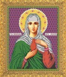 """Рисунок на ткани для вышивания бисером Бис 738 """"Св.Мария Магдалина"""""""