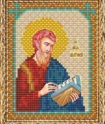 """Набор для вышивания бисером ВБ-160 """"Икона Святого Апостола Матфея"""""""