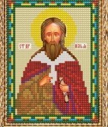 """Набор для вышивания бисером ВБ-199 """"Икона Святого Ильи"""""""