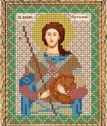 """Набор для вышивания бисером ВБ-214 """"Икона Св. Вмч. Артемия Антиохийского"""""""