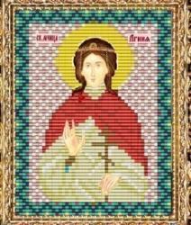 """Набор для вышивания бисером ВБ-226 """"Икона Святой Мученицы Агнии"""""""