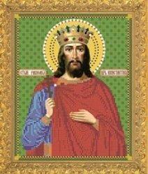 """Набор для вышивания бисером 8773 """"Святой Константин"""""""
