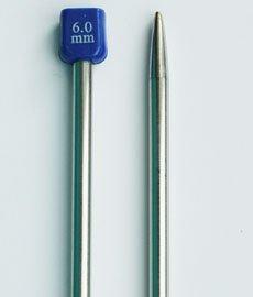 Спицы длинные метал. 35см №6,0