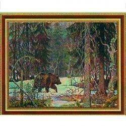 Алмазная мозаика 70484GD 30х40 (в тубе)