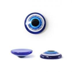 Бусины-Глазки от сглаза 14 мм, 1-стор.