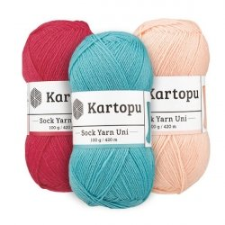 Пряжа Sock Yarn Uni