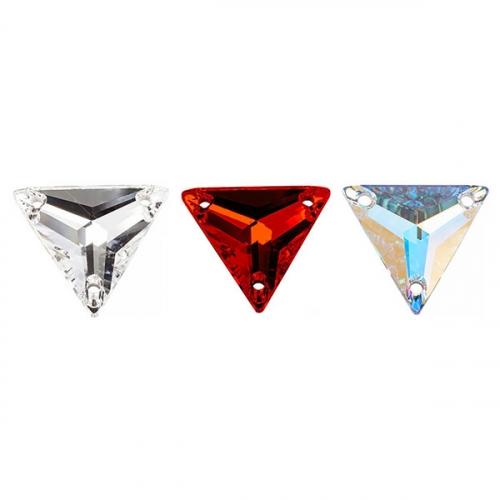 3303 Камни пришивные треугольник 16 мм 1/120 шт