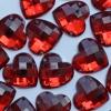 Стразы пришивные сердце 16 мм