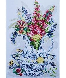 Схема для вышивания нитью мулине 0127