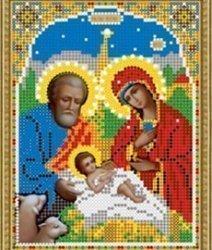 Pисунок на ткани для вышивания бисером 391М «Рождество Христово»