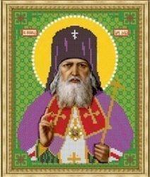 Рисунок на ткани для вышивания бисером Бис 448 «Св. Лука Крымский»