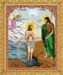 """Рисунок на ткани для вышивания бисером Бис 433 """"Богоявление Господнее"""""""