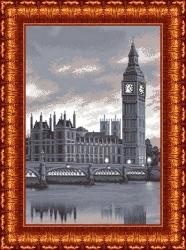 Канва для бисера КБ-2001 Лондон