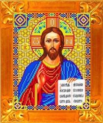 Канва для бисера КБИ-4024/1 Господь Вседержитель 18х23 см