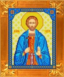 Канва для бисера КБИ-4060 Св. Иоанн Сочавский (Покровитель торговли) 18х23 см