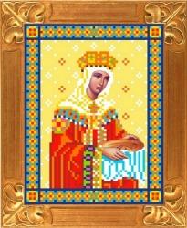 Канва для бисера КБИ-5028 Св. Царица Елена 13х18 см