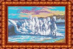 Канва для бисера КБП-1001 Бегущая волна