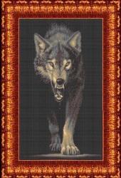 Канва для бисера КБЖ-2004 Волк
