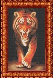 Канва для бисера КБЖ-2006 Тигр