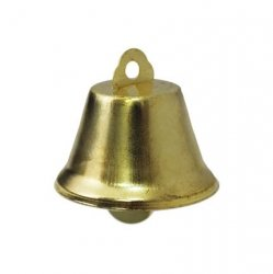Колокольчик д.3,5см (глянц., золото) 1/50 шт