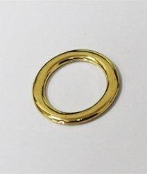 Кольцо металлическое №1532 золото