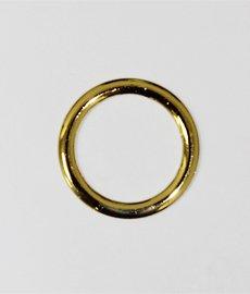 Кольцо металлическое №12446 золото