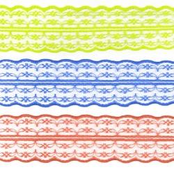Кружево капроновое №133-2A 4,7 см 1/25 ярд