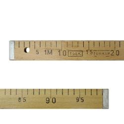 Метр деревянный 100 см