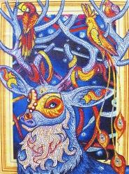 Алмазная мозаика 021 LP 40х50 (на подрамнике)