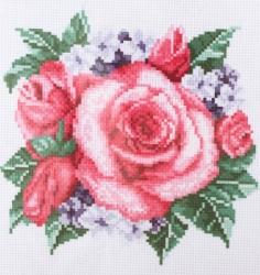 Схема для вышивания нитью мулине 20х28 см № 4065