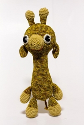 """Набор для вязания amy-17 """"Жираф"""""""