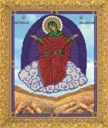 """Набор для вышивания бисером 8424 """"Прсв.Богородица Спарительница хлебов"""""""