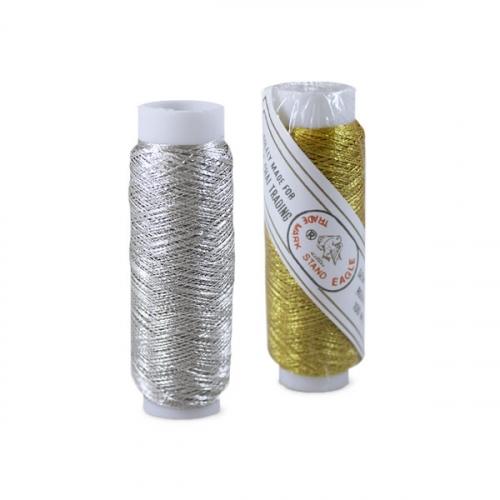 Нить-люрекс для вышивания 1/12 шт