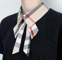 Воротник-галстук съемный №B6