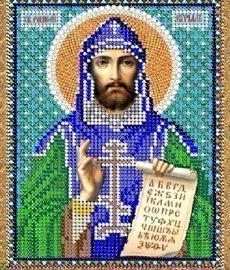 """Рисунок на ткани для вышивания бисером 772М """"Святой Кирилл"""""""